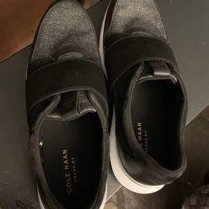 NWT! Super Cool Cole Haan Ella Slip-On Sneakers